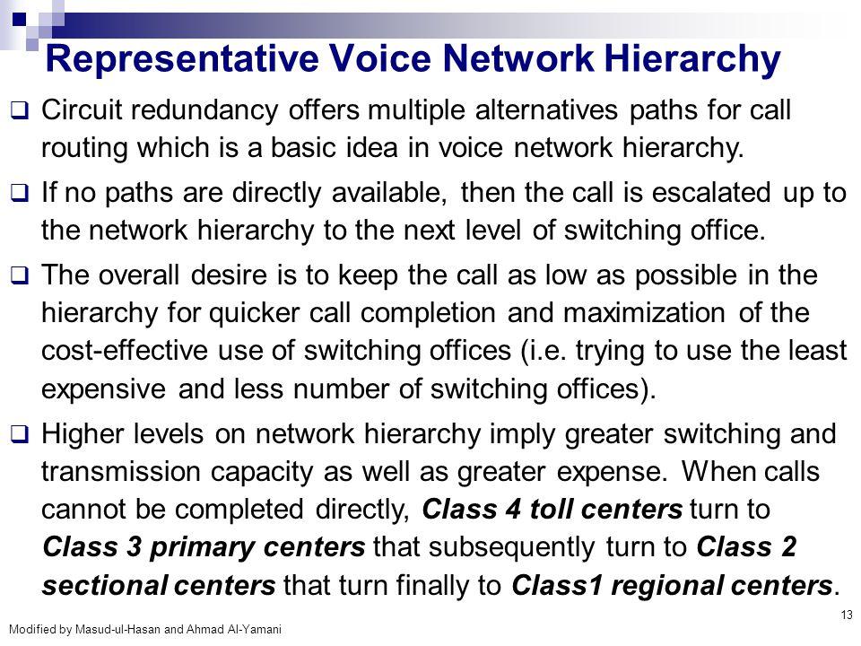 Representative Voice Network Hierarchy