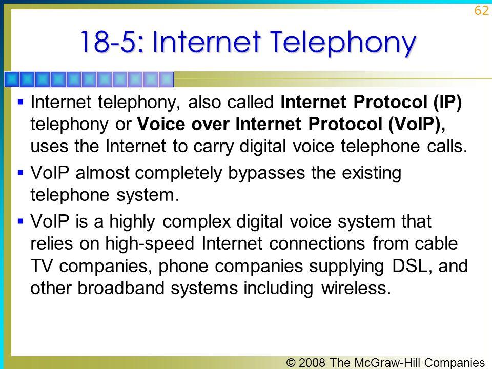 18-5: Internet Telephony