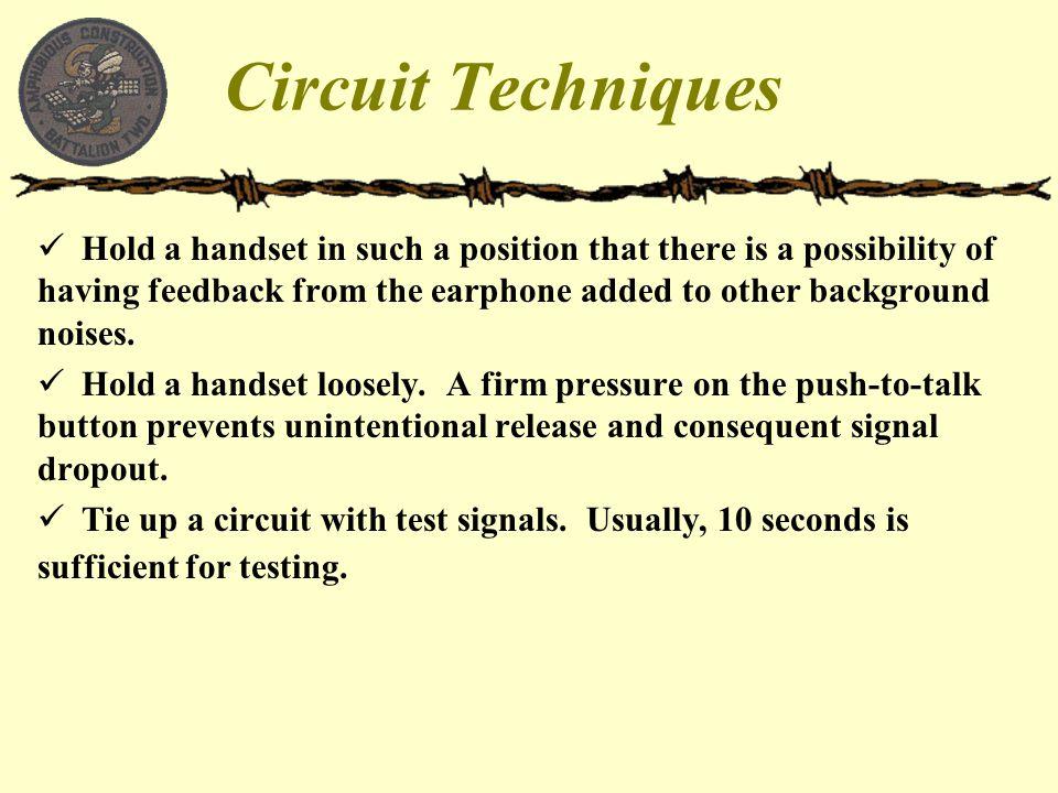 Circuit Techniques