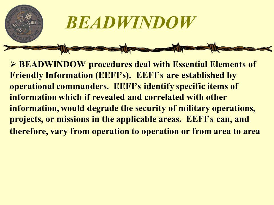BEADWINDOW