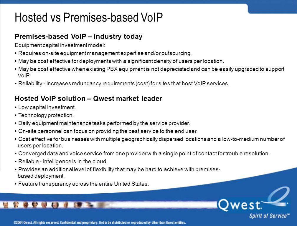 Hosted vs Premises-based VoIP