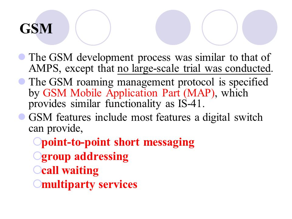 GSM point‑to‑point short messaging group addressing call waiting