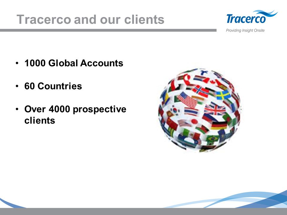 Tracerco and our clients