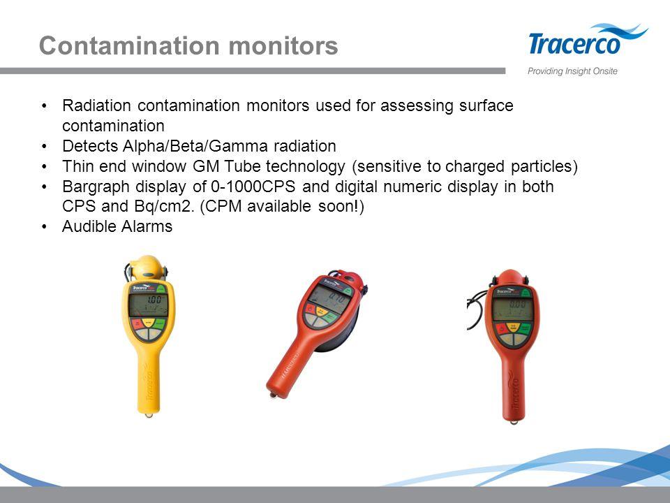 Contamination monitors