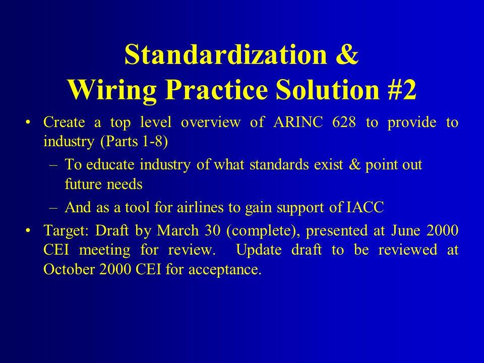 Standardization & Wiring Practice Solution #2