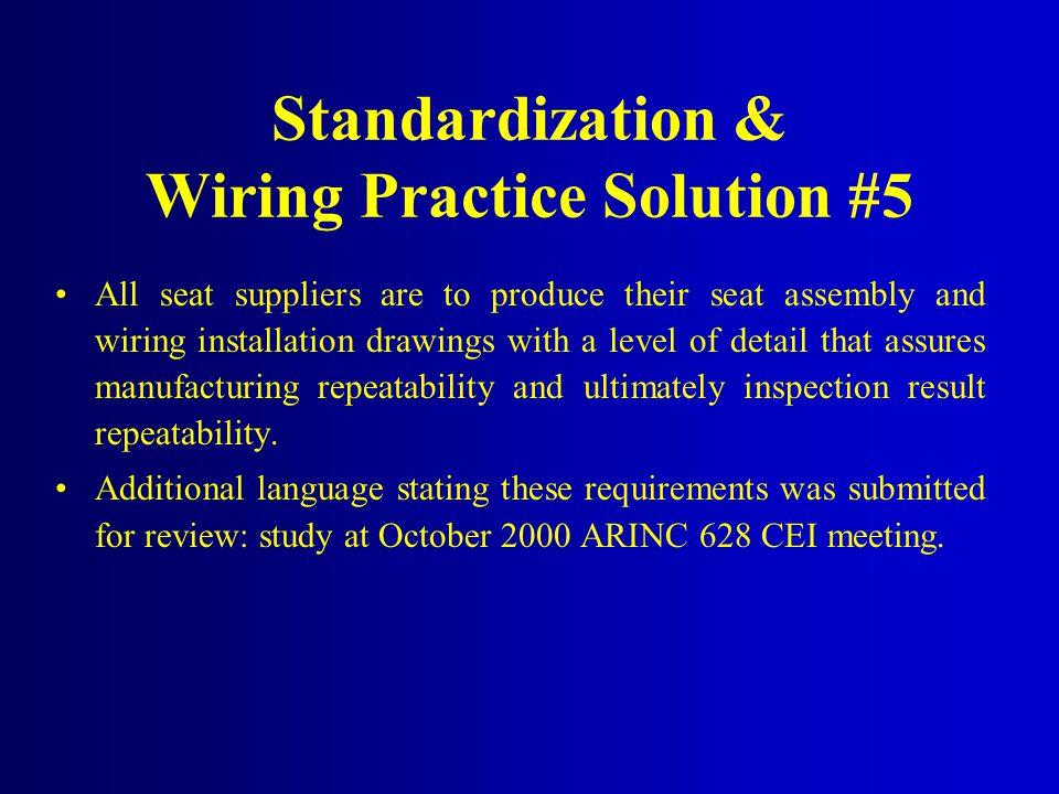 Standardization & Wiring Practice Solution #5