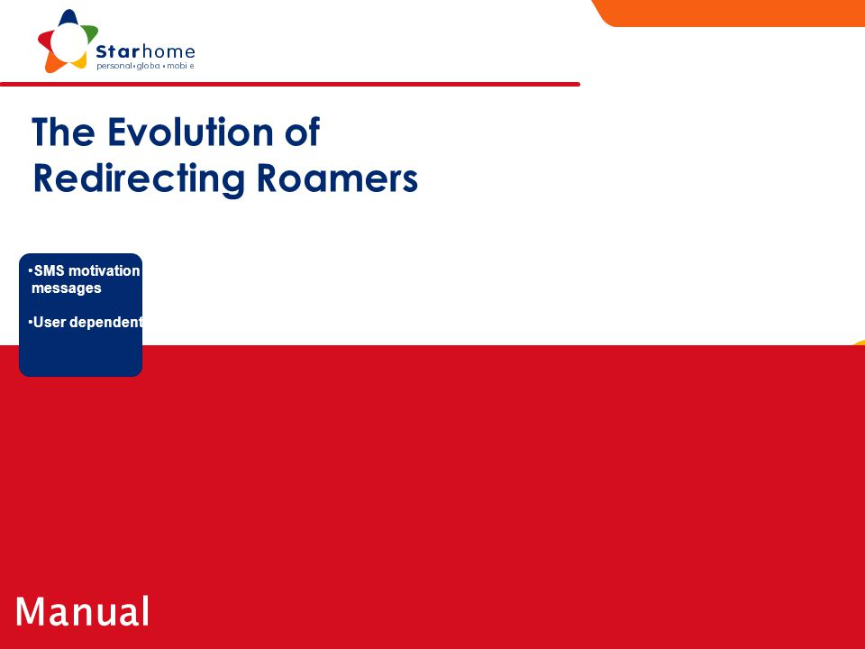 The Evolution of Redirecting Roamers