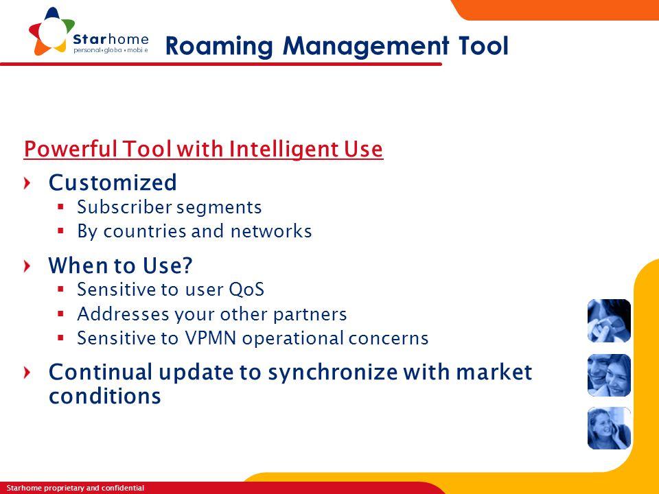 Roaming Management Tool