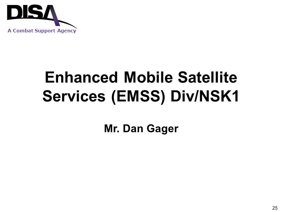 Enhanced Mobile Satellite Services (EMSS) Div/NSK1