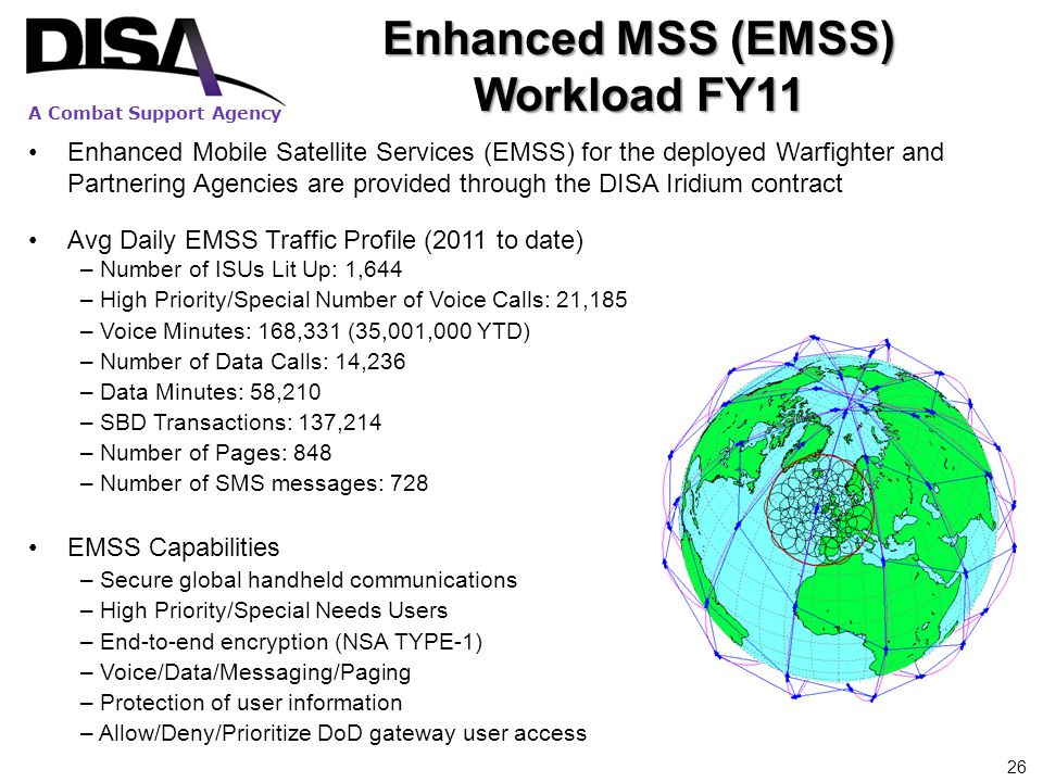 Enhanced MSS (EMSS) Workload FY11