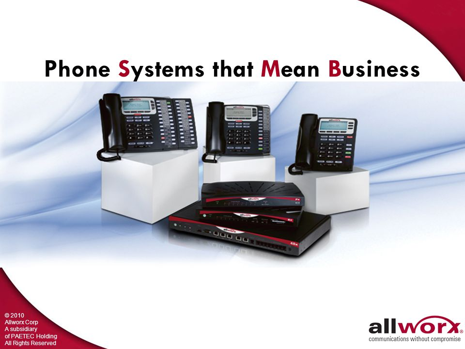 Phone Systems that Mean Business