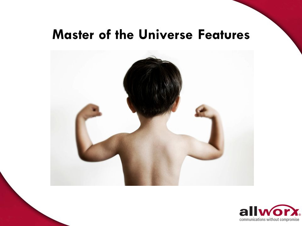 Master of the Universe Features