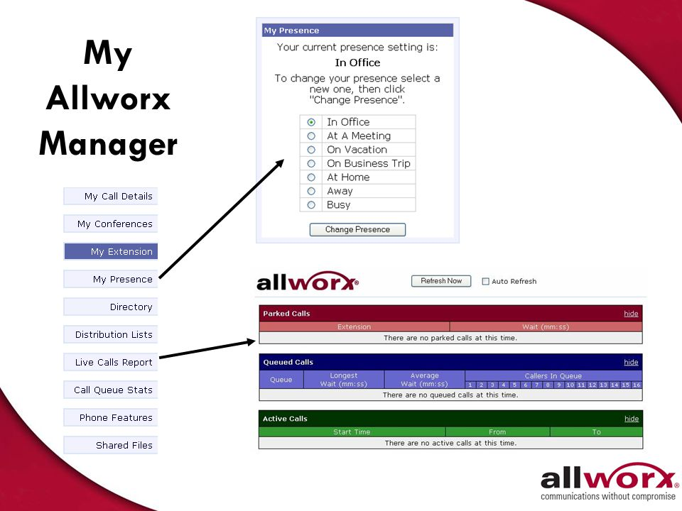 My Allworx Manager 26