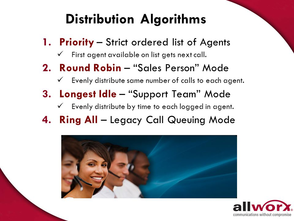 Distribution Algorithms
