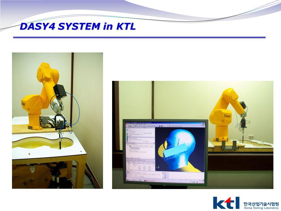 DASY4 SYSTEM in KTL