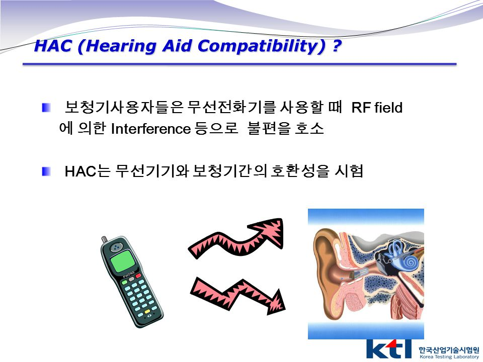 HAC (Hearing Aid Compatibility)