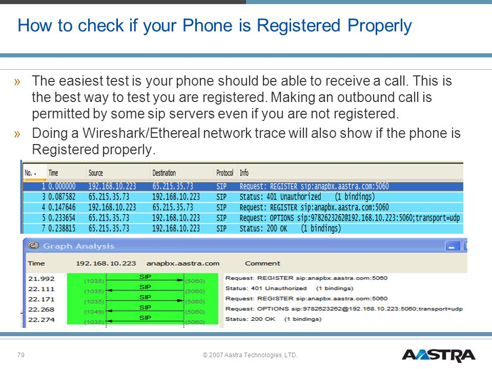 How to check if your Phone is Registered Properly
