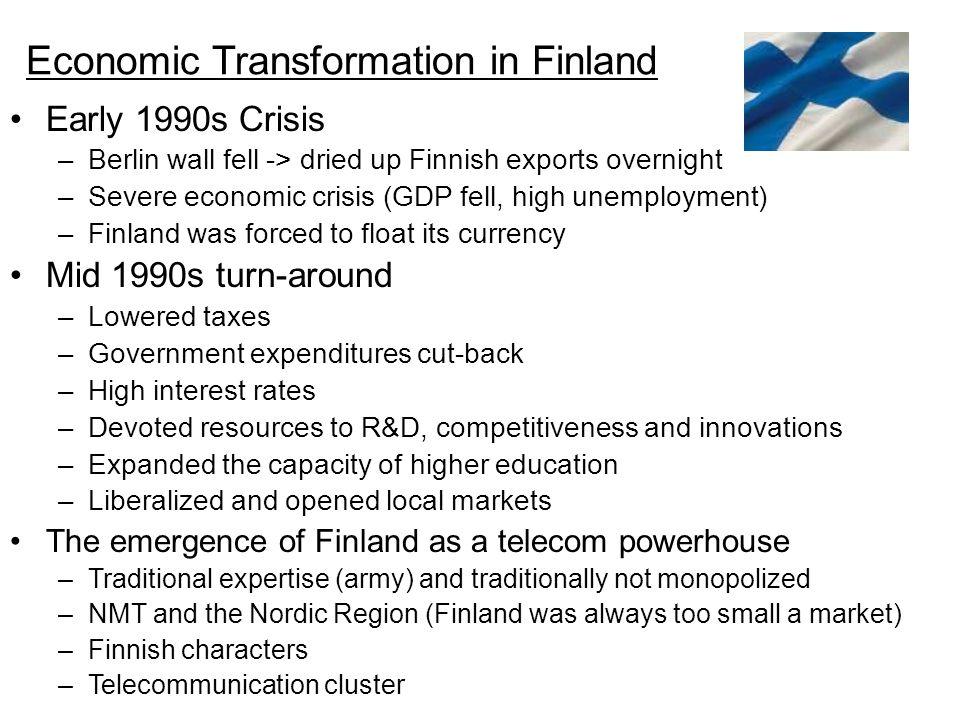 Economic Transformation in Finland