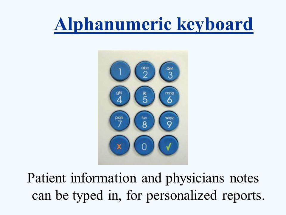 Alphanumeric keyboard