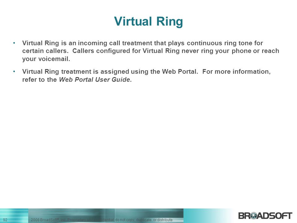 Virtual Ring