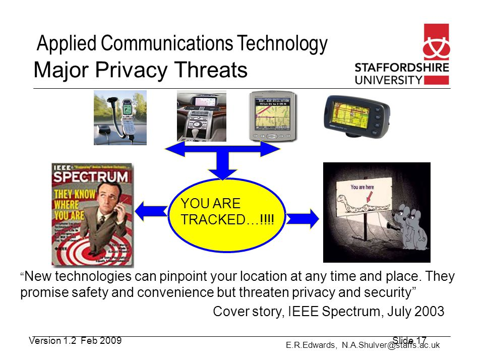 Major Privacy Threats YOU ARE TRACKED…!!!!