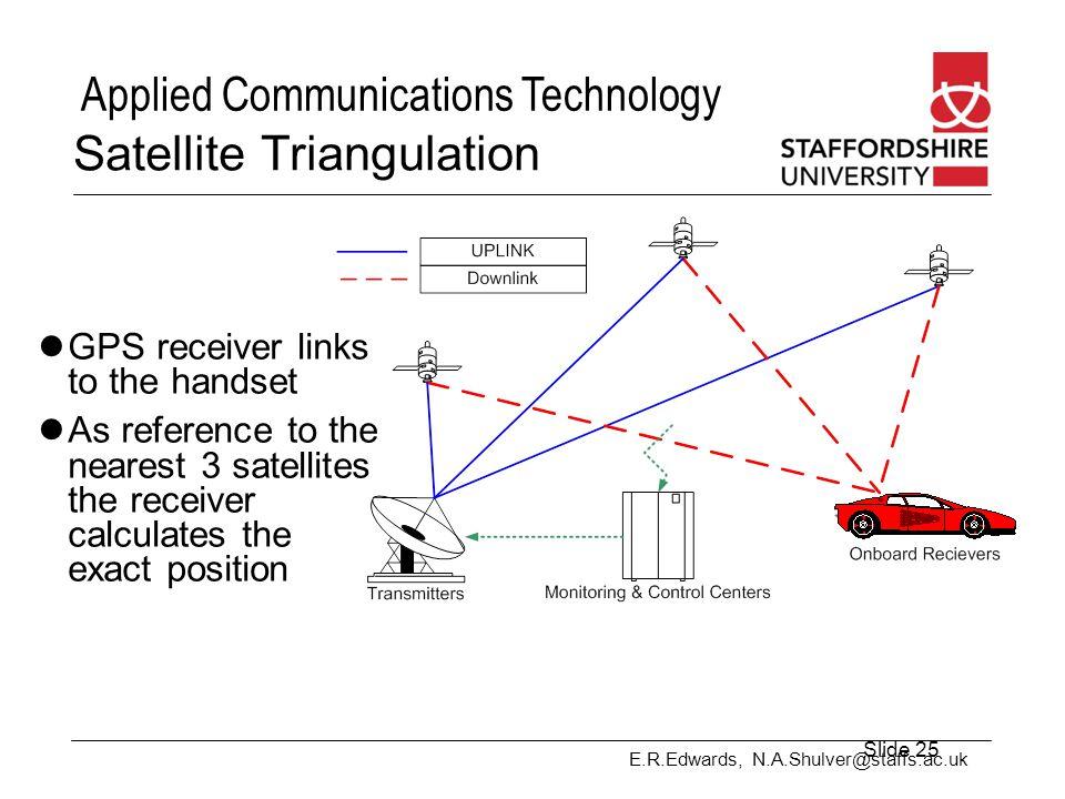 Satellite Triangulation