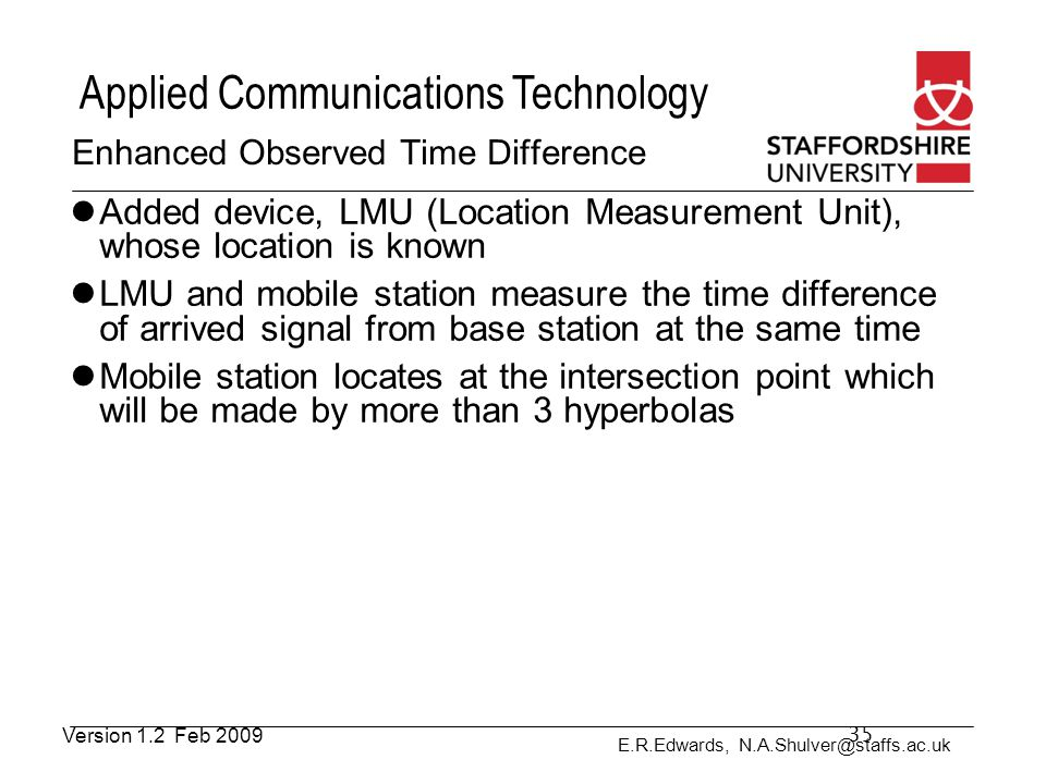 Enhanced Observed Time Difference