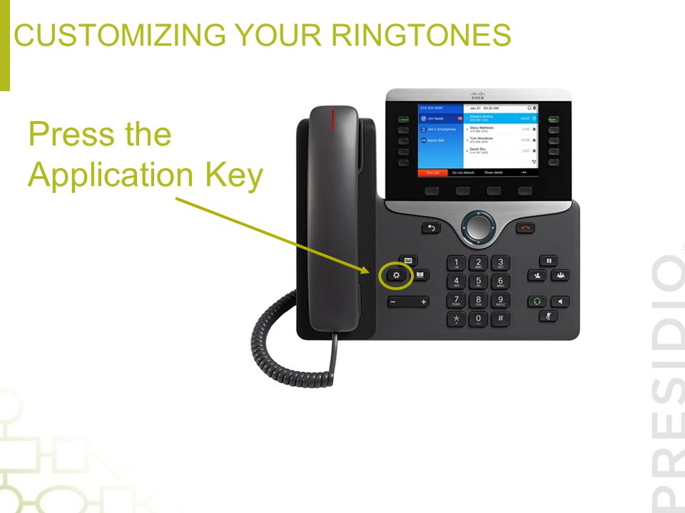 Customizing your ringtones