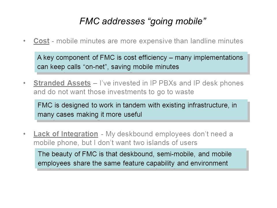 FMC addresses going mobile