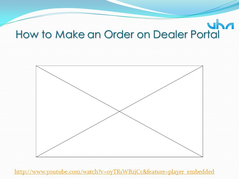 How to Make an Order on Dealer Portal