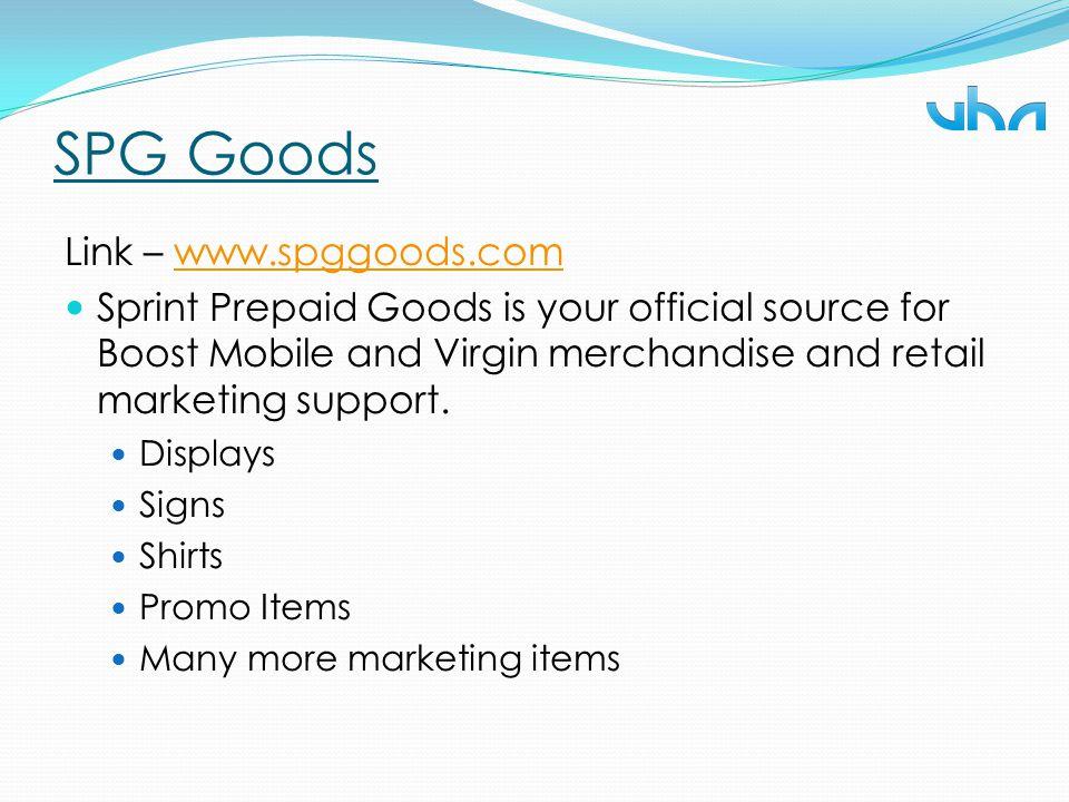 SPG Goods Link – www.spggoods.com