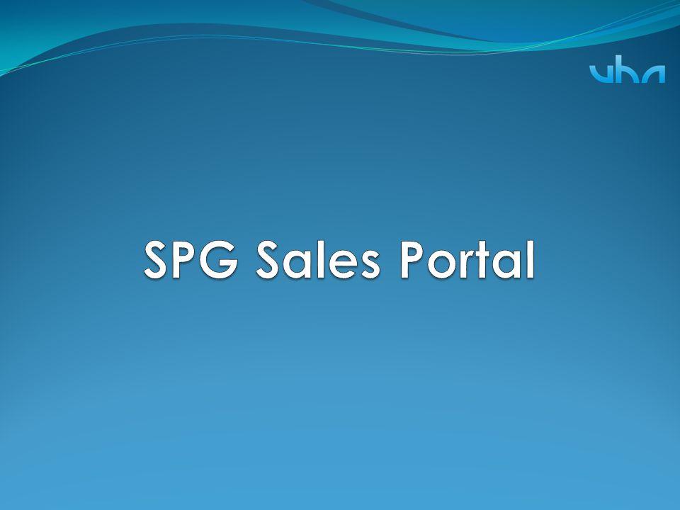 SPG Sales Portal