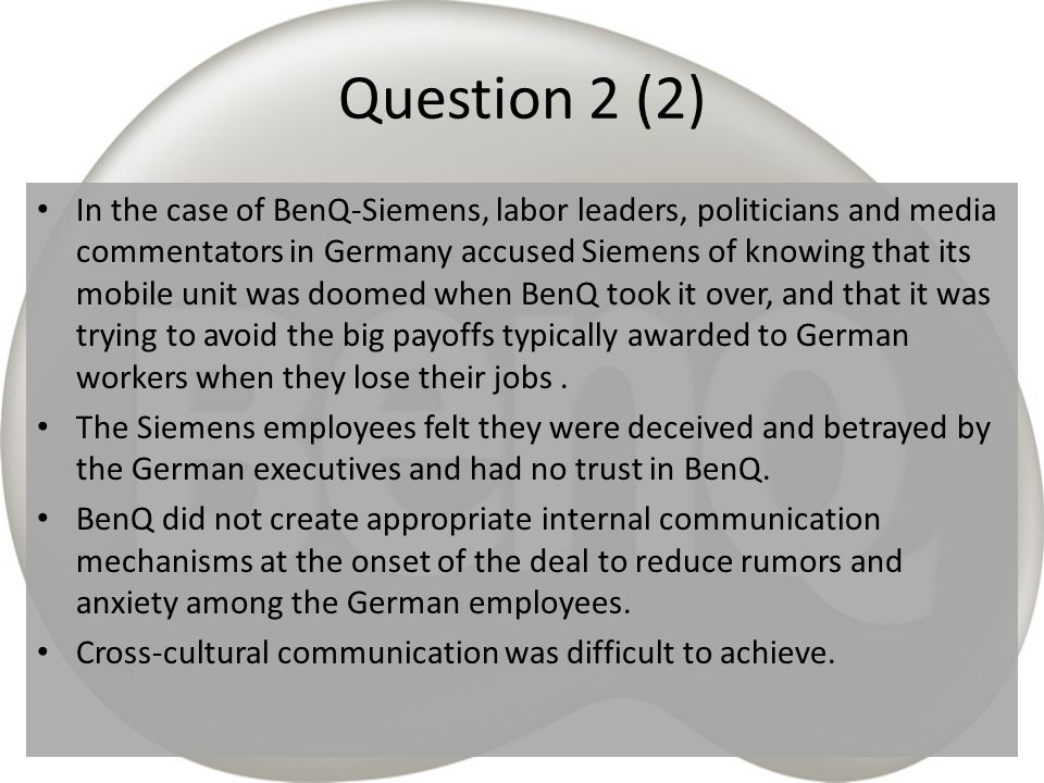 Question 2 (2)