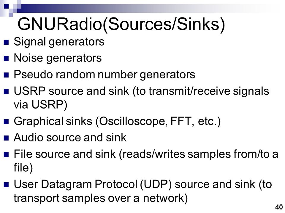 GNURadio (Implementation)