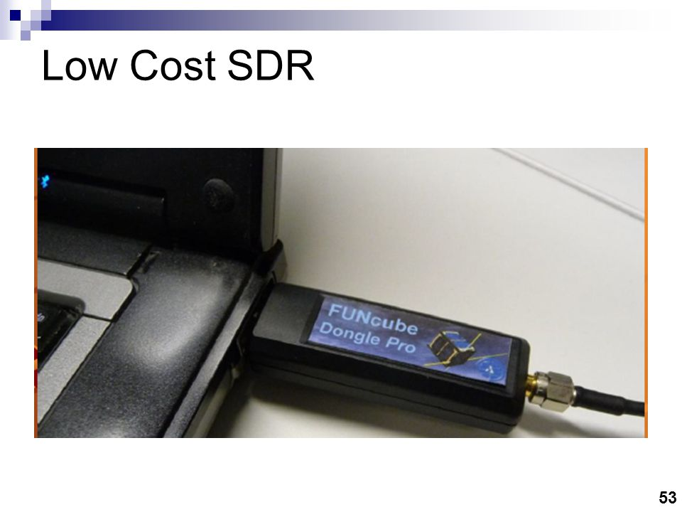$ 20 SDR (RTL Dongle)