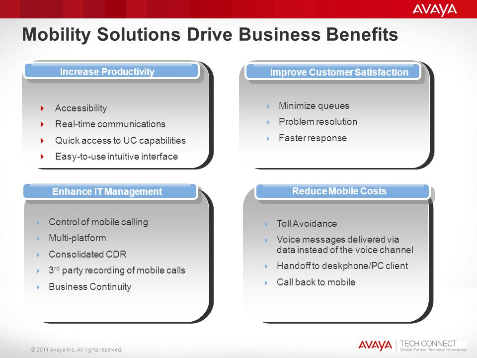 Mobility Solutions Drive Business Benefits