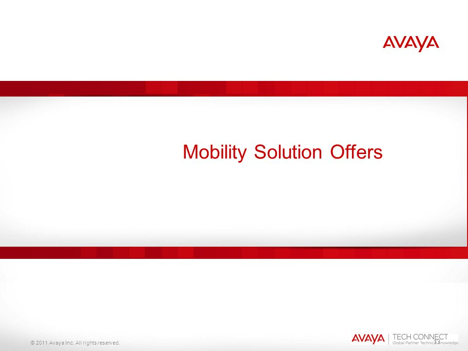 Mobility Solution Offers