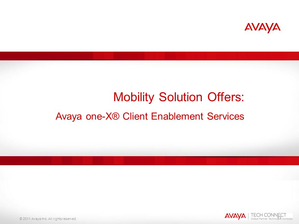 Mobility Solution Offers: