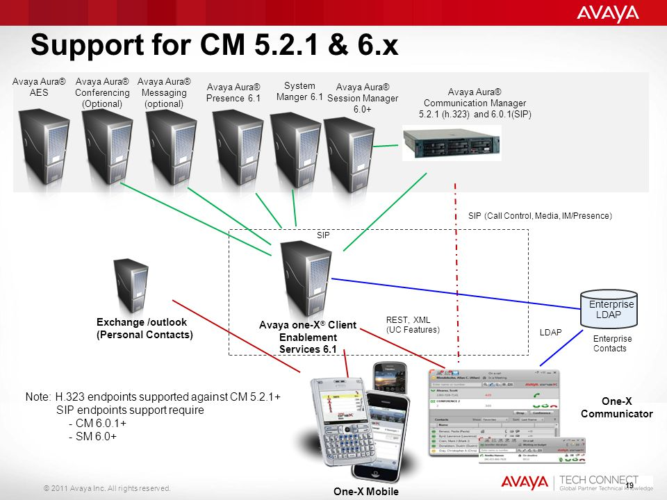 Avaya one-X® Client Enablement Services 6.1