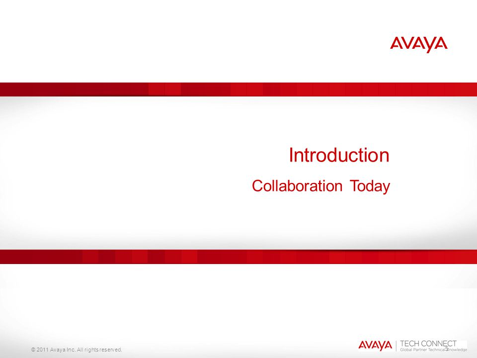 Introduction Collaboration Today 5