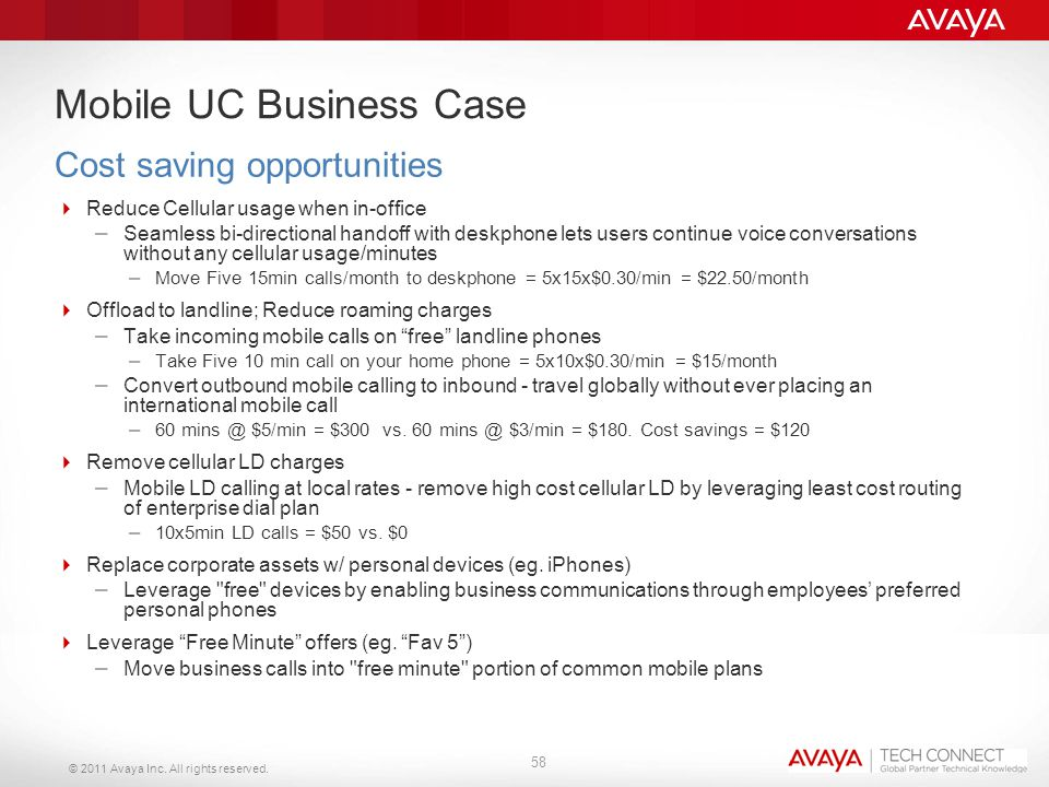 Mobile UC Business Case