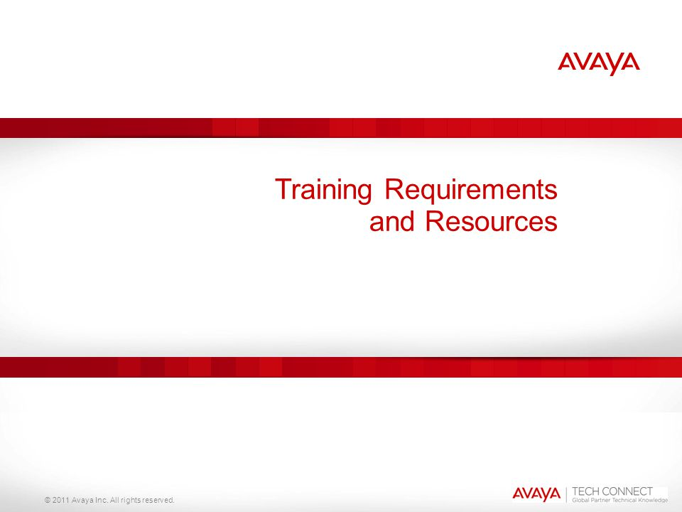 Training Requirements and Resources