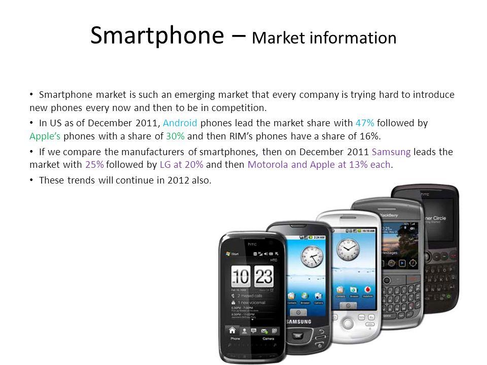 Smartphone – Market information