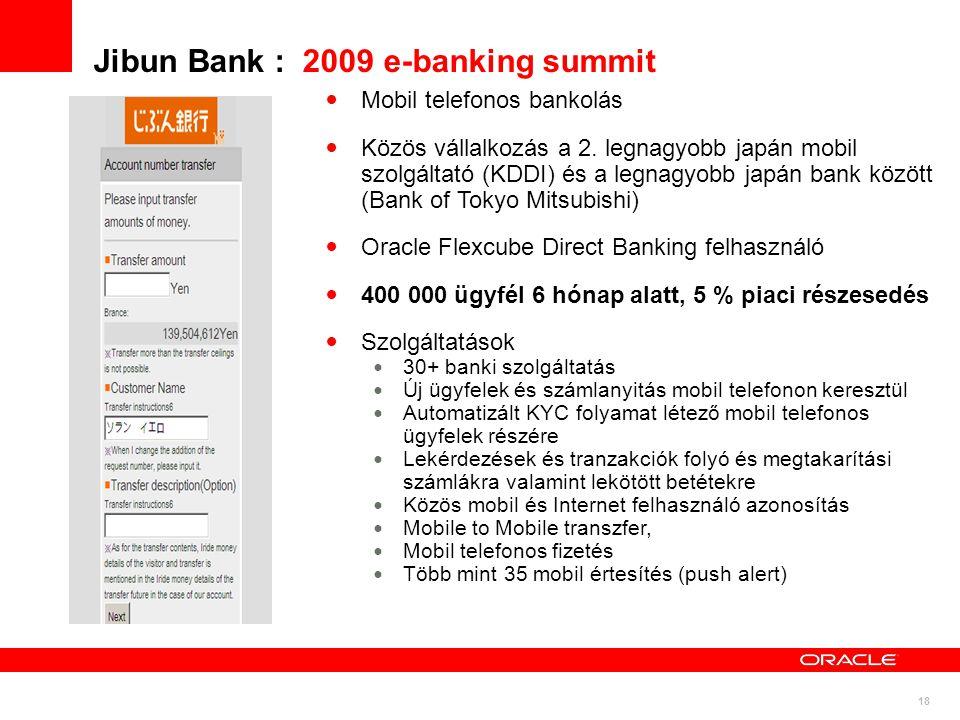 Jibun Bank : 2009 e-banking summit