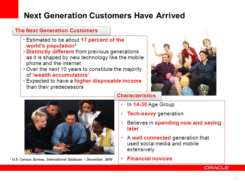 Next Generation Customers Have Arrived