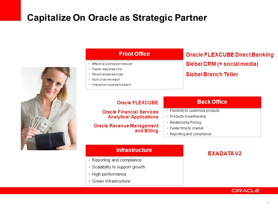 Capitalize On Oracle as Strategic Partner