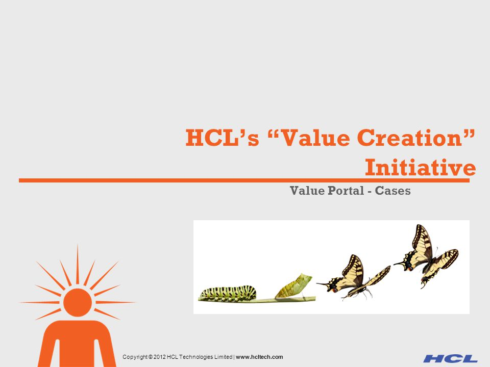 HCL's Value Creation Initiative