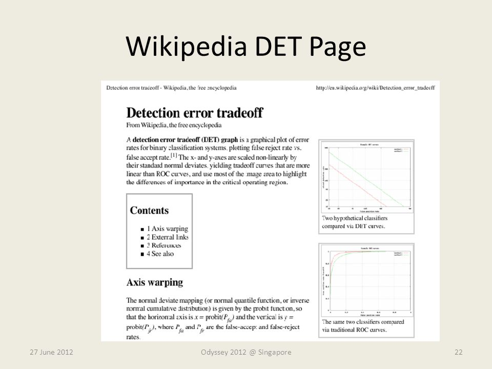 Wikipedia DET Page 27 June 2012 Odyssey 2012 @ Singapore