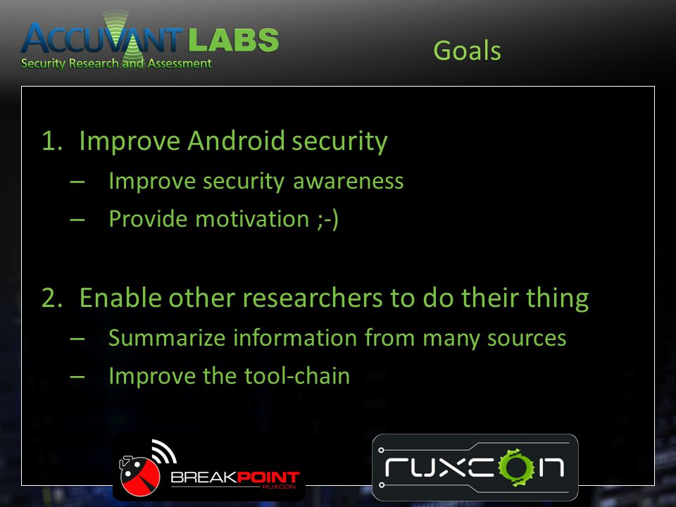 Improve Android security