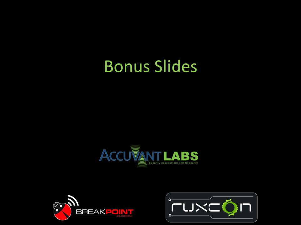 Bonus Slides I have recommendations for the various groups of people involved in Android…